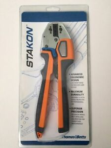 Thomas Betts Stakon Comfort Crimp Compression Electricians Tool Erg4006 New