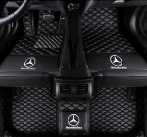 Car Floor Mats All Mercedes Benz S350 S400 S450 S500 S550 S600 S63 Knitting Logo