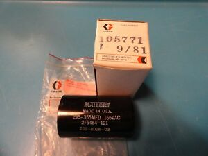 Graco 105 771 Oem Capacitor Original Replacement Part 105771