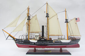 Uss Michigan United States Navy S Ship Model 32 Handcrafted Wooden Model New