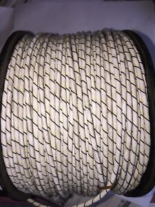 500 Foot Roll Teflon Three Conductor Wire With Braided Shield