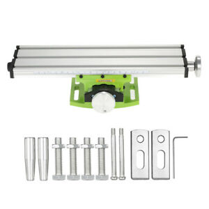 New Milling Machine Compound Bench Cross Slide Work Table Drill Press Fixture Br