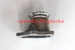 Td04 5 Bolt Turbo Downpipe Flange To 3 V Band Conversion Adaptor For Subaru