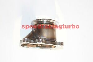 For T25 T28 Gt25 Gt28 To 2 5 63mm V Band Clamp Flange Turbo Down Pipe Adapter