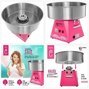 Cotton Candy Machine Commercial Candy Floss Maker Holiday Party Supplies Food