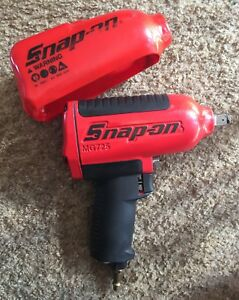 Snap On Mg725 1 2 Super Duty Air Impact Wrench W Boot Nice