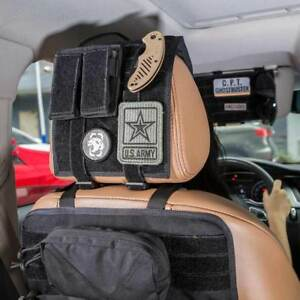 Onetigris Tactical Universal Car Seat Headrest Cover With Molle