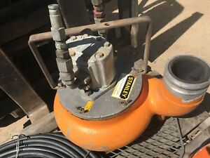 Stanley Hydraulic 4 Discharge Submersible Water Trash Pump Aluminum