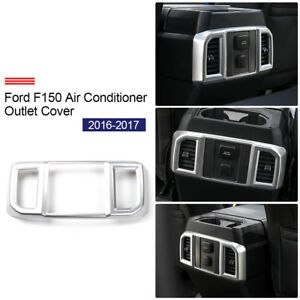 Rear Air Conditioning Outlet Vent Accessories Frame Cover For Ford F150 2015