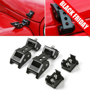 Hood Latch Locking Catch Buckle Fit Jeep Wrangler Jk Jl Unlimited 07 Accessorie