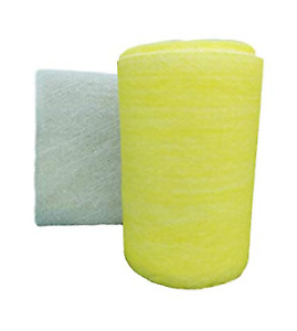 Msfilter Paint Spray Booth 300 Ft Exhaust Filter Rolls 22 Gram 1 Roll bag