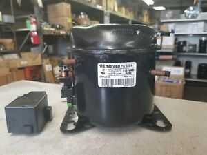 Embraco Pw5 5a 1 6hp 115 1 60 R 12 Low Back Pressure Refrigerator Compressor