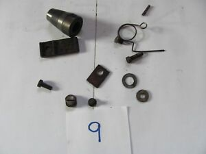1893 New Home Treadle Sewing Machine Bottom Misc Parts