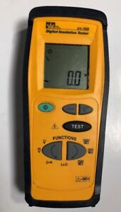 Ideal Insulation Tester Hand Held Tool 61 795