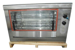 Chicken Gas Oven Electric Control Heating Rotating Roast Machine