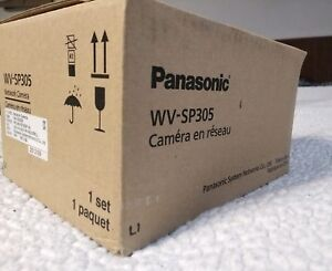 Panasonic Wv sp305 Security Ip Camera With Lens Poe Onvif 720p 1 3mp Day night
