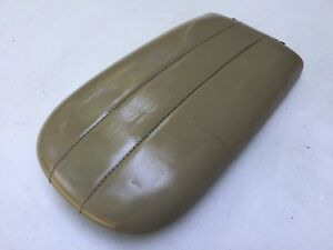 1997 2002 Ford Expedition Navigator Center Console Lid Arm Rest Tan Beige Oem