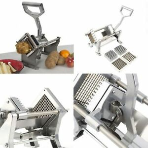 Commercial Potato French Fry Vegetable Fruit Cutter Maker Dicer Slicer Chopper