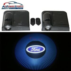 2x Wireless Car Door Welcome Led Lights Courtesy Shadow Projector For Ford Focus