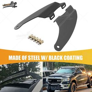 For Dodge Ram 52 Inch Curved Led Light Bar Upper Roof Windshield Mount Bracket