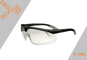 Safety Ppe Glasses Work Construction Side Shields Anti fog Box 12
