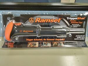 Ramset Ts22 Trigger Shot Lv Powder Actuated Tool new In Packaging