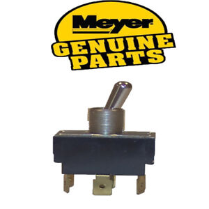 Genuine Oem Meyer Snow Plow Lights Headlight Toggle Switch Part 07955