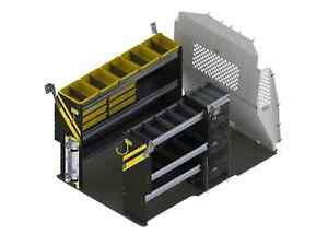 Ranger Design Hvac Van Shelving Package Ram Promaster City Pmd 12