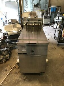 Frymaster Gas Deep Fryer Fat Natural 80 lb 150 000 btu 21 width Ak