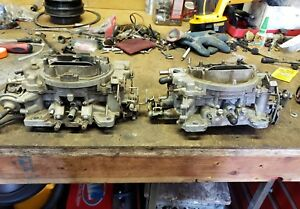 Carter Carburetors Pair