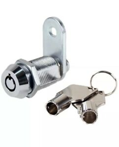 50x Vending Lock Tubular Cam Lock Keyed Alike Custom Key Code your Own Code