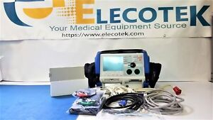 Zoll M Series Bls Pacer Analyze aed 3 Leads Nibp Spo2 Bluecase Pads