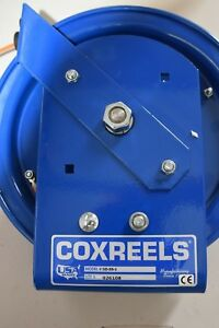Coxreels Sd35 1 Spring Rewind Static Discharge Cable Reel 35 Stainless Steel