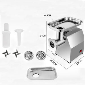 Meat Grinder Timesaving Commercial Household Minced Meat Multi function 110v
