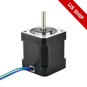 Nema 17 Stepper Motor 84oz in 2 0a 42x48mm 4 Wires W 1m Cable Connector