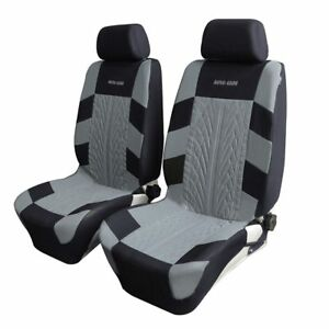 4pcs Universal Car Front Breathable Seat Covers Cushion Mat Interior Protector