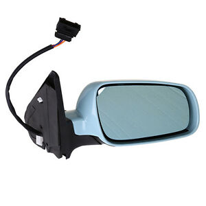 Right Manual Remote No Heated Mirror Tinted Glass For Vw Jetta Golf Mk4 1999 07
