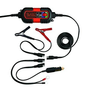 Automatic Battery Charger Maintainer Motorcycle Car Float Trickle Tender 12v 6v