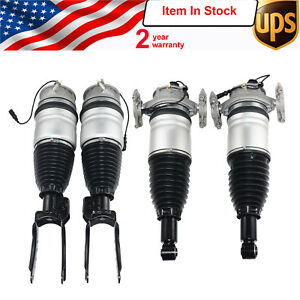 Full Kit Vw Touareg 11 18 Porsche Cayenne Ii 2010 Air Suspension Shock Struts