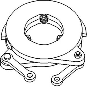 366182r93 Brake Actuating Assembly For Farmall Ih M Md Smta 400 450