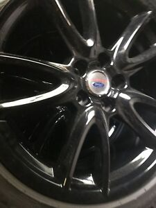 Ford Mustang American Racing Wheels And Tires 4 Lug