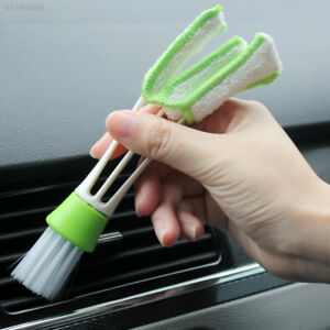 654b Car Automotive Dashboard Vent Cleaner Keyboard Air Outlet Cleaning Brush