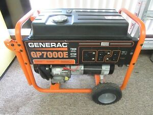 Generac Gp7000e 7000 Watt Electric Start Portable Generator