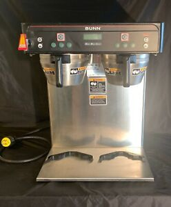 Bunn Icb Twin 120 240v Blk Infusion Hot ice Coffee tea Brewer W faucet Fast Ship
