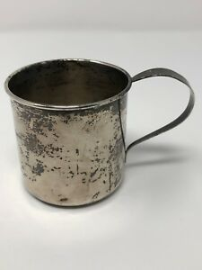 Lullaby 1928 Sterling Silver Baby Cup 2 1 4 No Mono