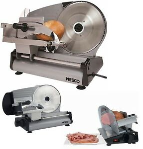 8 7 Blade Electric Meat Food Slicer Steel Cheese Cutter Kitchen Tool Commercial