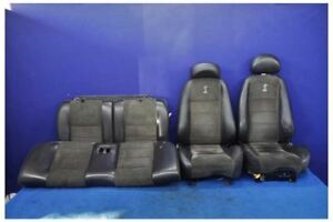 2003 2004 Ford Mustang Svt Cobra Terminator Coupe Leather Dark Suede Seats Oem
