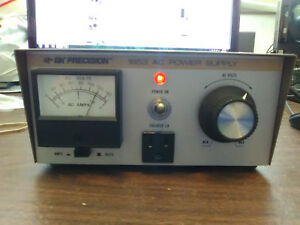 Bk Precision 1653 Variable Ac Power Supply 0 150v 2a 60hz Made In Usa