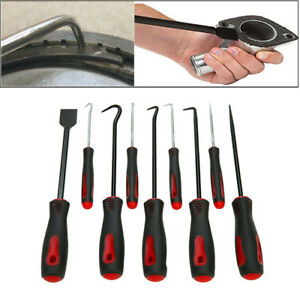 Precision Scraper Hook And Pick Set 9pc Gasket Scraping Hose Removal Tool Set