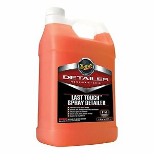Last Touch Spray Detailer Shine Gloss Car Auto Care Detailing Cleaner 1 Gallon